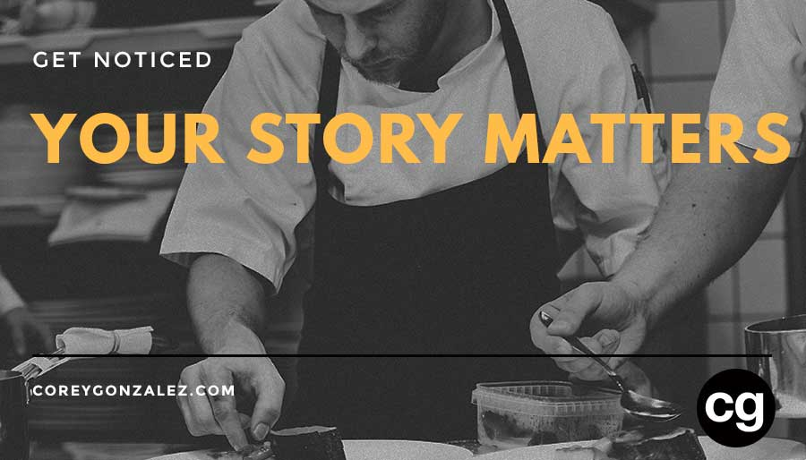 your story matters cg