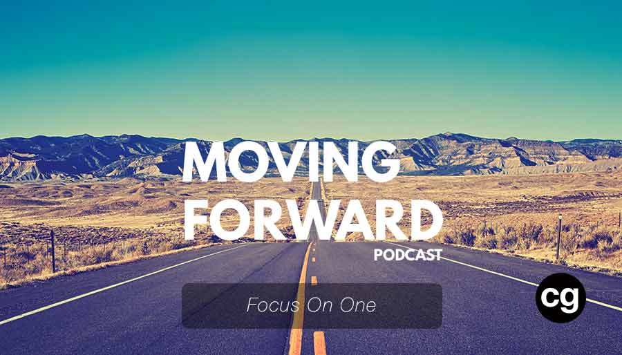 focus on one cg moving forward