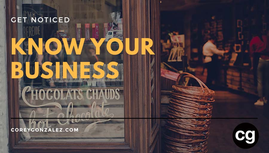 Know Your Business get notice cg