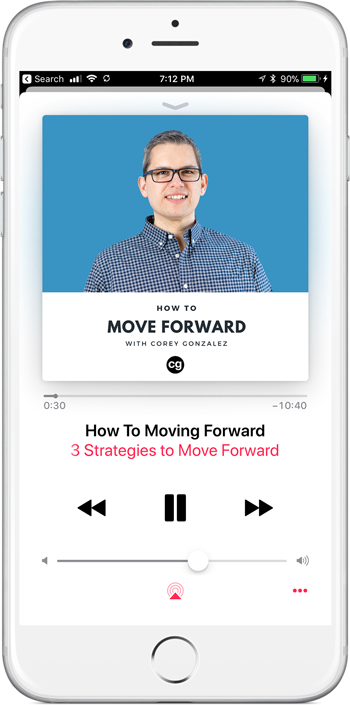 how to move forward with corey gonzalez