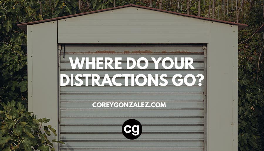 Where do your distractions go?