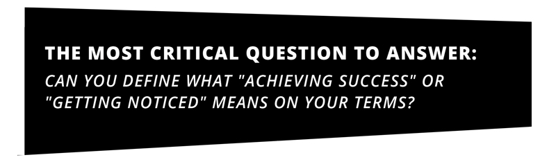 critical question to achieve success