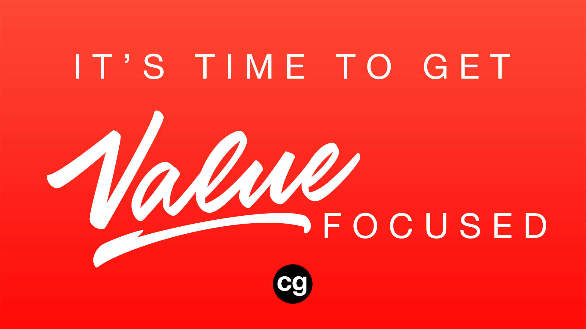 get value focused coaching brand consulting